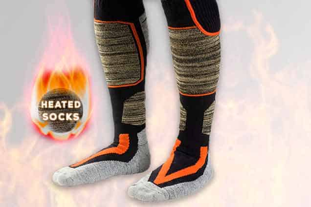 Orgrul Heated Socks for Men Women 3 Levels Heating /& Washable Thermal Foot Warmer Socks for Skiing//Motorcycling 2020 Upgraded 5000mAh Rechargeable Electric Heating Socks